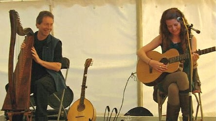 Chris Knowles and Catrin O'Neill